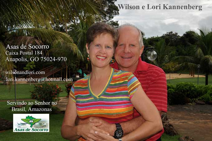 Wilson and Lori's Current Prayer Card